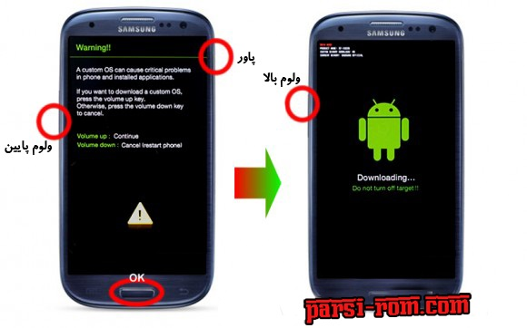 SAMSUNG-Downloading-mode