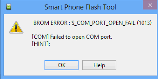 eror 1013 sp flash tool