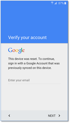 google bypass Y5II-CAN-U29